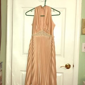 Vintage pale pink/peach dress